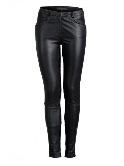 Black Cougar Pants