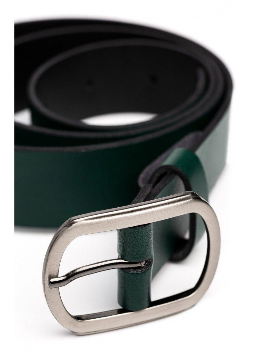 Cinto em pele The Belt