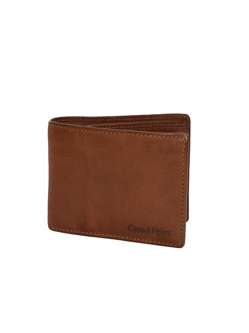 Carteira em pele Wallet
