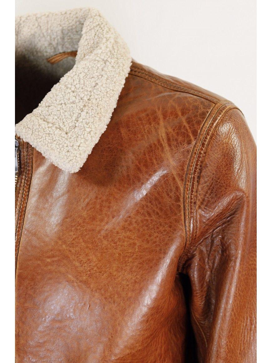 Blusão em pele Henrique