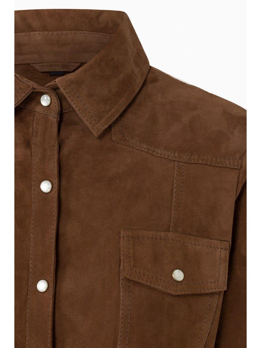 Camisa em pele Florença