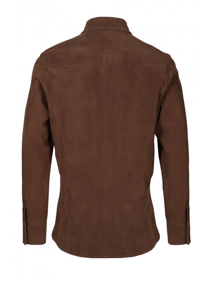 Camisa em pele Ruben